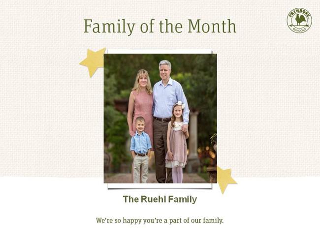 Ruehl family