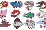 ちびっ子深海生物