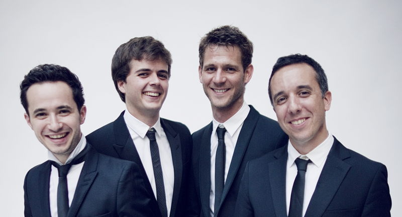 Tuesday Evening Concert Series:  Quatuor Ebene
