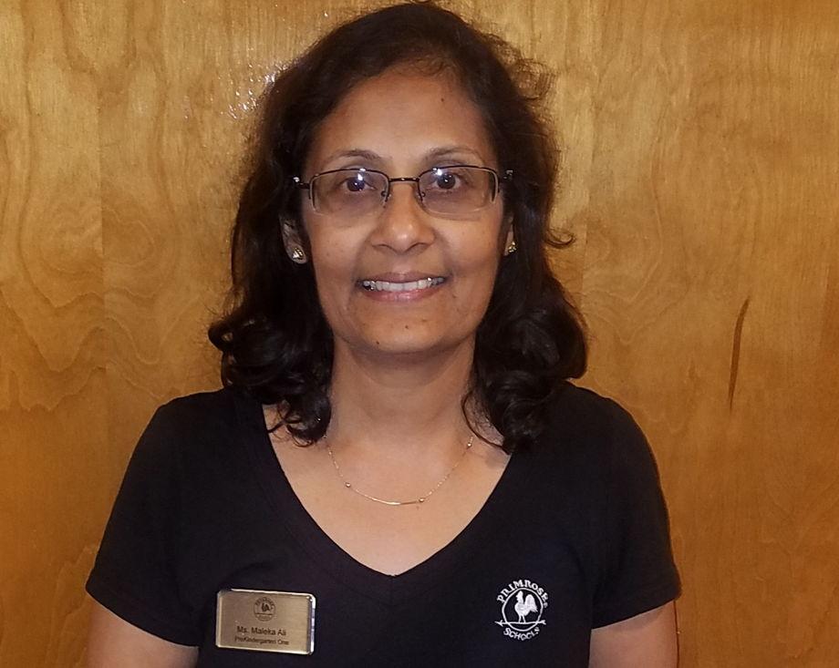 Ms. Maleka Ali, Pre Kindergarten Venture Two Teacher