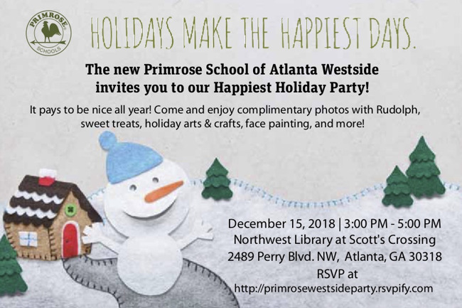 Happiest Holiday Party Invitation