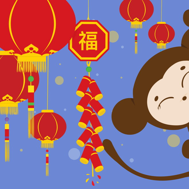 Lunar New Year of the Monkey | 春節 — picathingswelove's ...