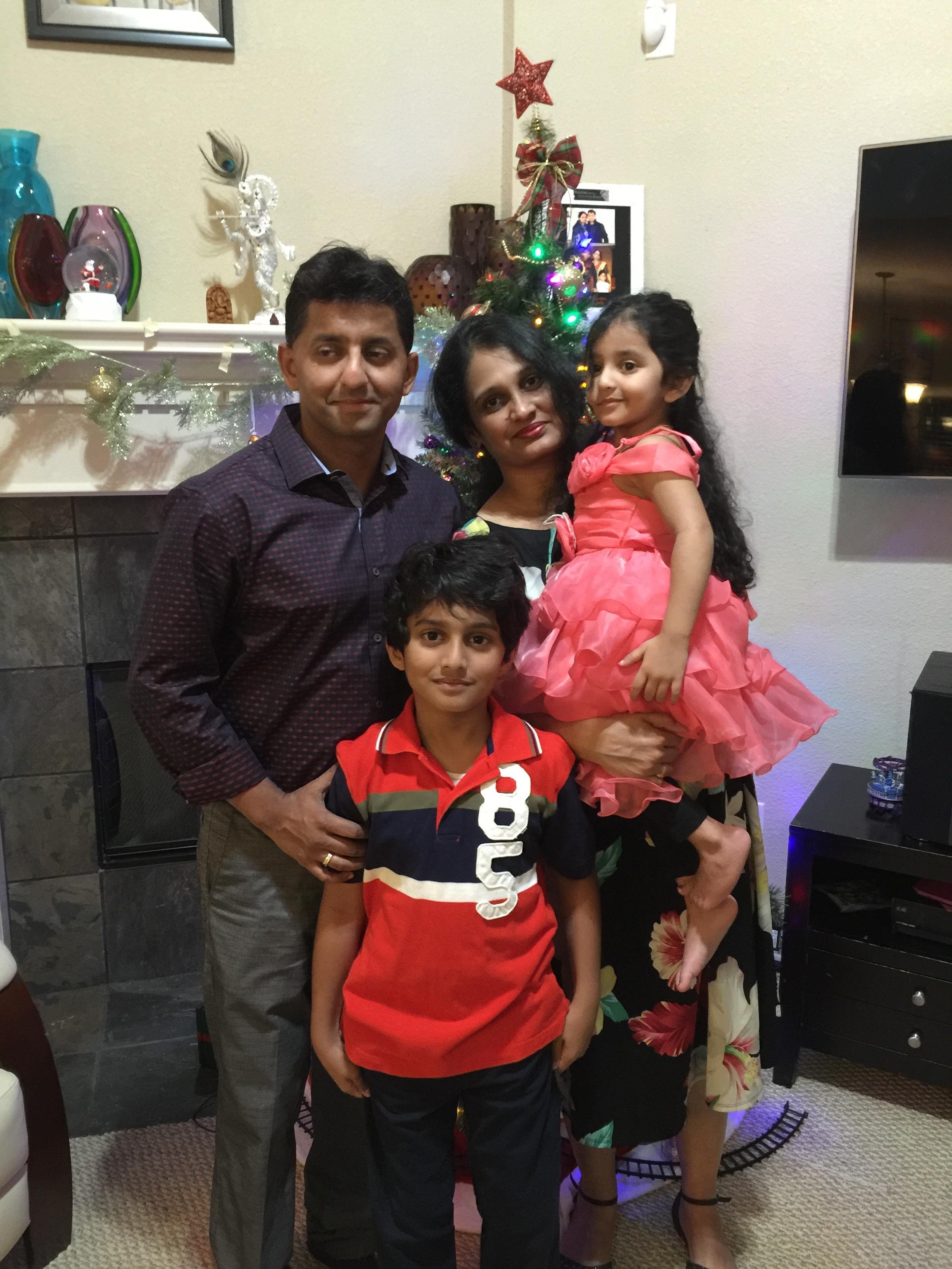 Goyal family photo