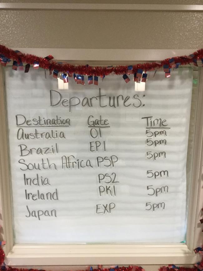 Celebrating Cultures - Gate Departures