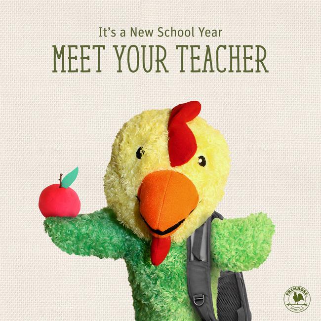 Meet the teacher reminder