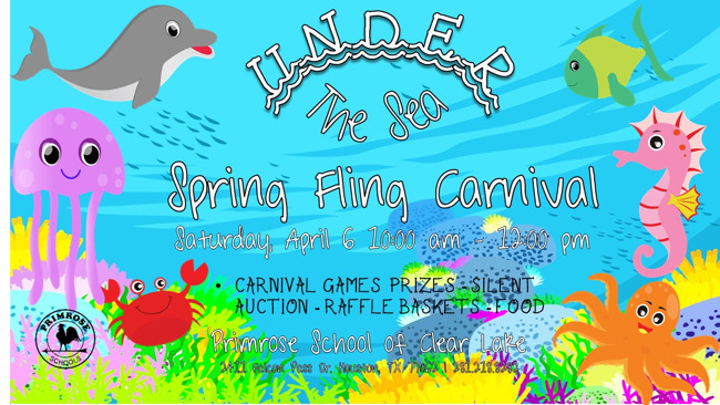 Primrose School of Clear Lake Spring Fling Fundraiser Games Activities Silent Auction
