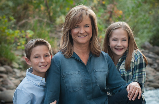 Franchise Owner of Primrose School Beth Deasy with her family