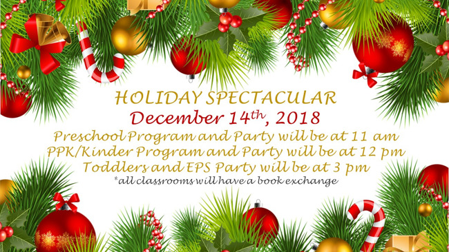 holiday parties and programs