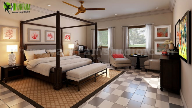 Stylish Bedroom Design Ideas by Yantram architectural design home ...