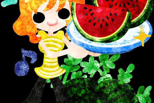 夏の思い出と美味しいスイカ