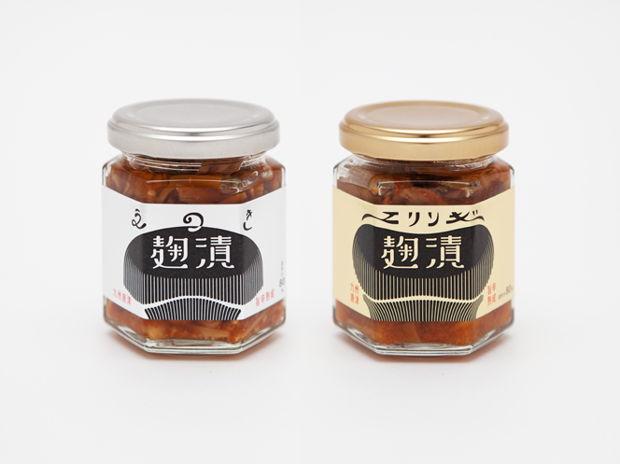 九州唐津名産品 「麹漬 えのき・エリンギ」 パッケージ