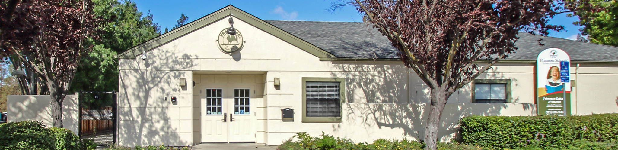 Exterior of a Primrose School of Pleasanton