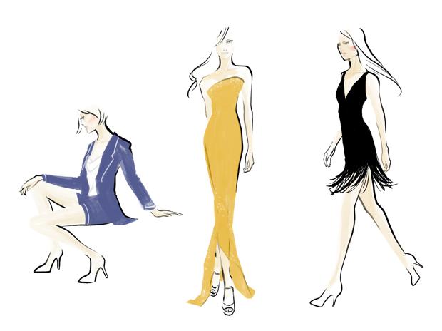 Fashion poses