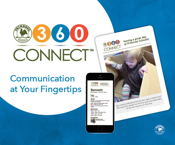 Poster for the 360 connect initiative by Primrose