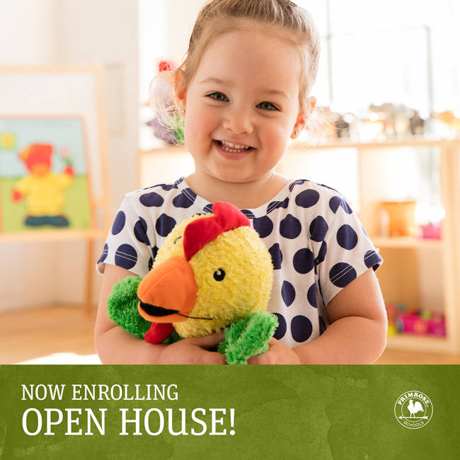 join for our preschool open house