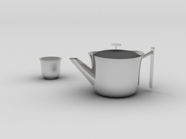 銀器の茶器