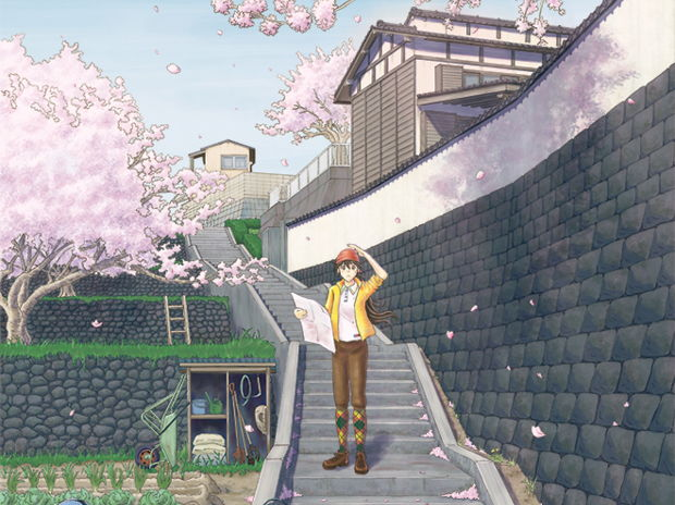 春の道迷い / Lost the way in spring
