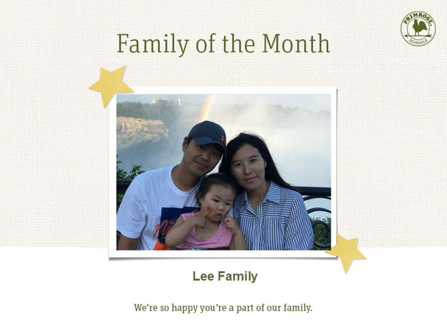 Family of the Month, Lee Family