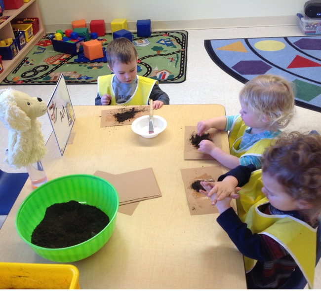 School for 2 year olds!
