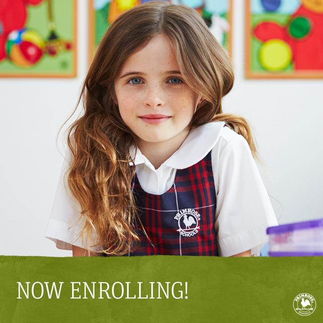 Now Enrolling with Kindergarten girl