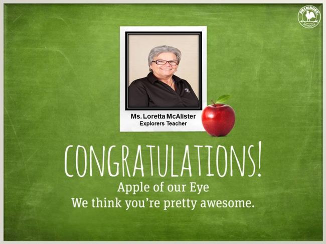 apple of our eye primrose schools teacher dedication black shirt