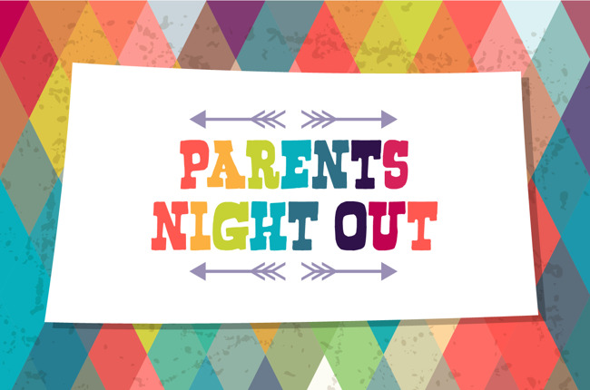 Parent's Night out sign