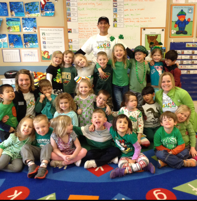Pre-K's St. Patrick's Day Celebration