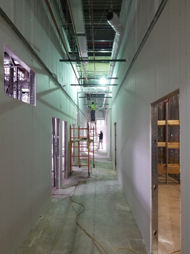 December construction update progress