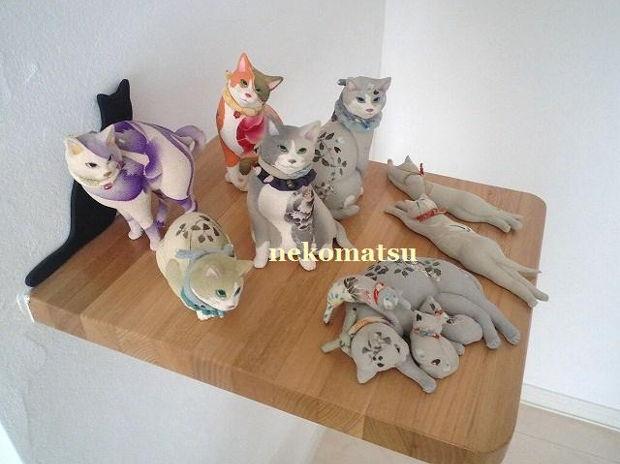 猫松 記念撮影