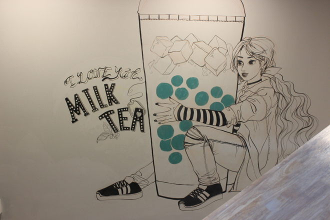 MILK TEA acrylic