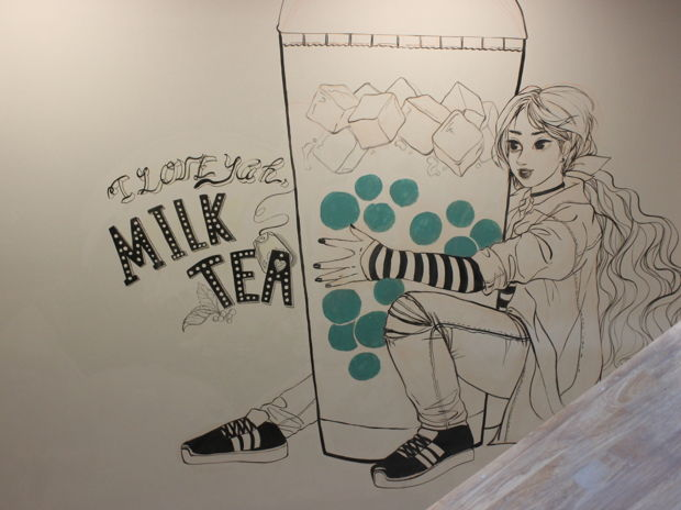MILK TEA acrylic