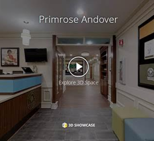 Image preview of the 3D virtual tour video of the school