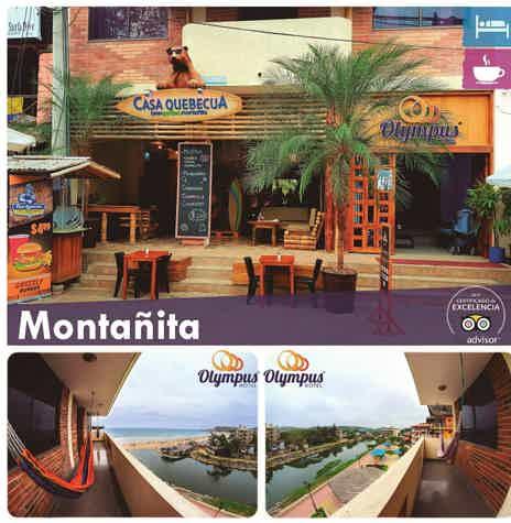 Style and Comfort Hotel Olympus :: Montañita !!