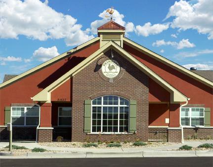 Exterior of the Primrose school of Tallgrass