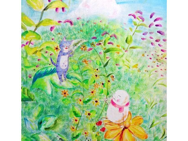 野の花Ⅱ Fleurs de sauvagesⅡ