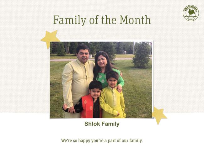 Shah Family 6/18