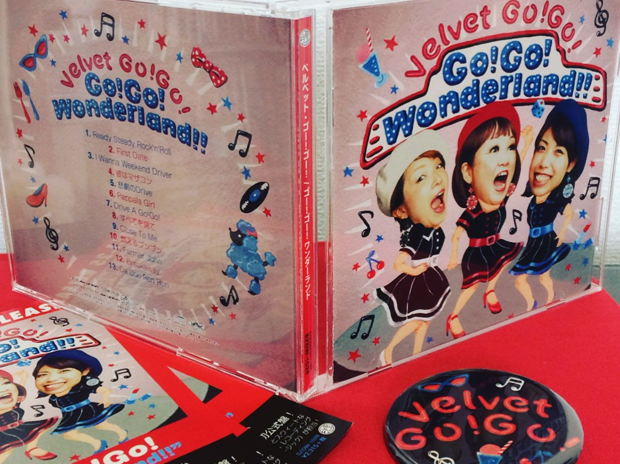 """Velvet Go! Go! アルバム""""Go! Go! Wonderland!!""""アートワーク"""