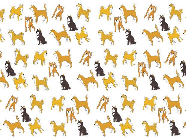 マルチカバーA4 柴犬 -Shiba-