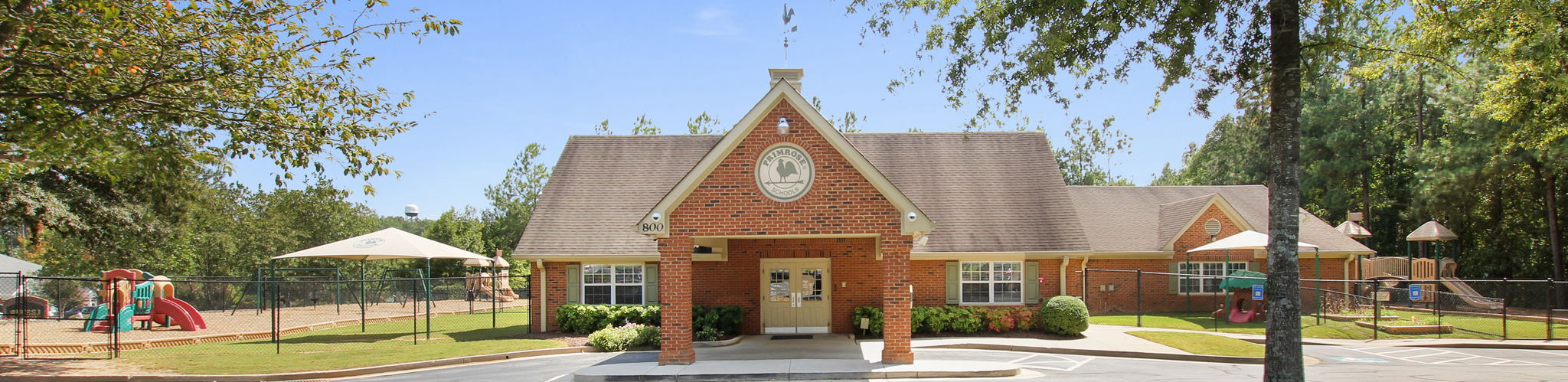 Exterior of a Primrose School of Suwanee West