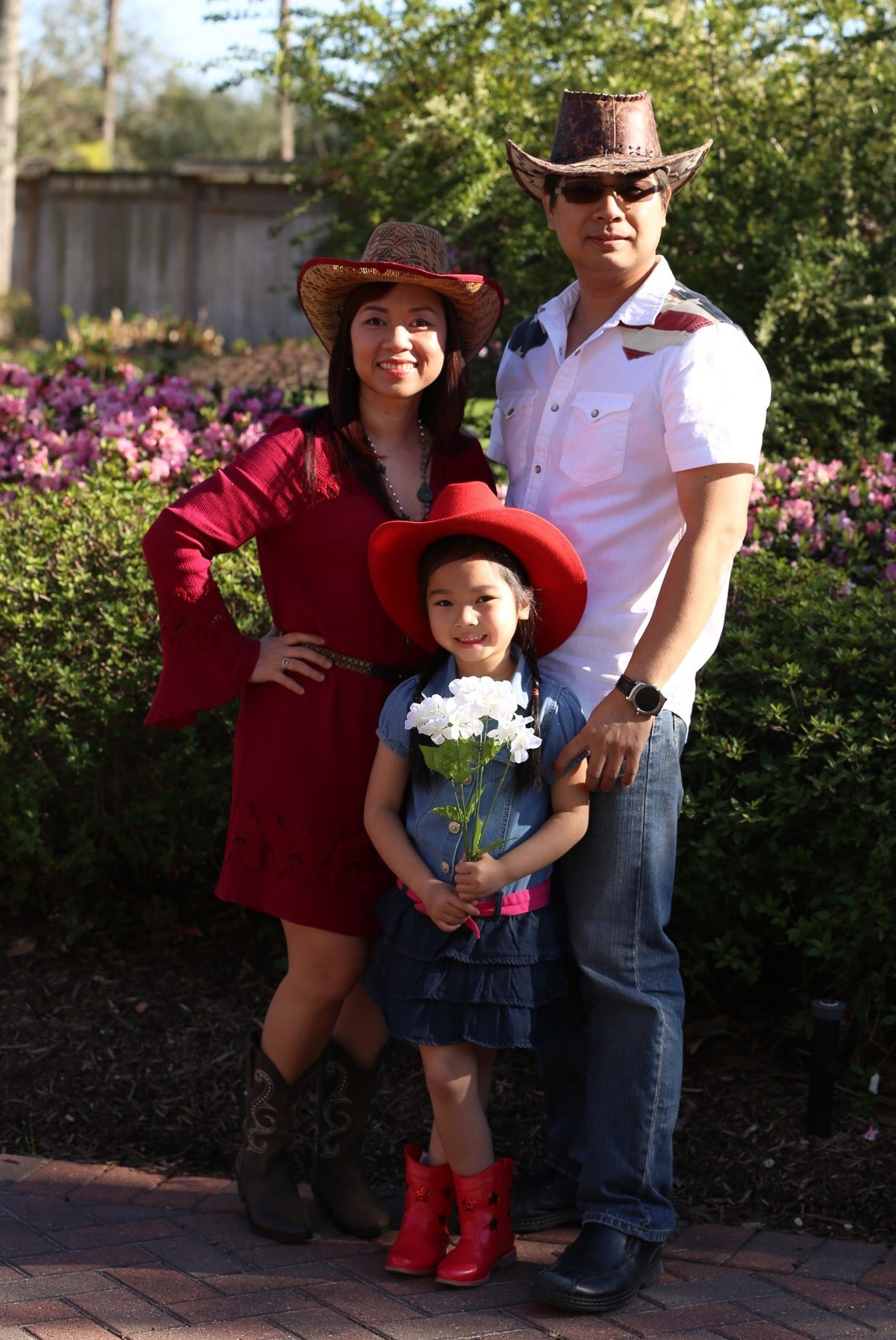 The Nguyens, family of the month for March