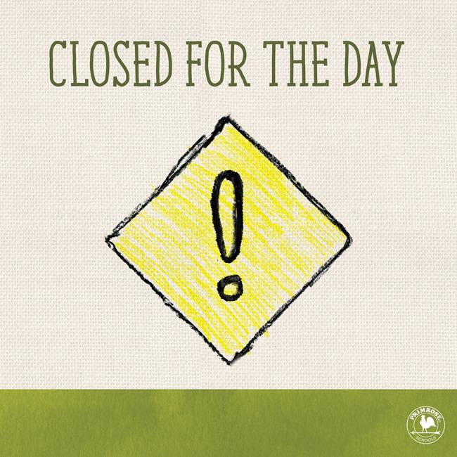 School Holiday Closures