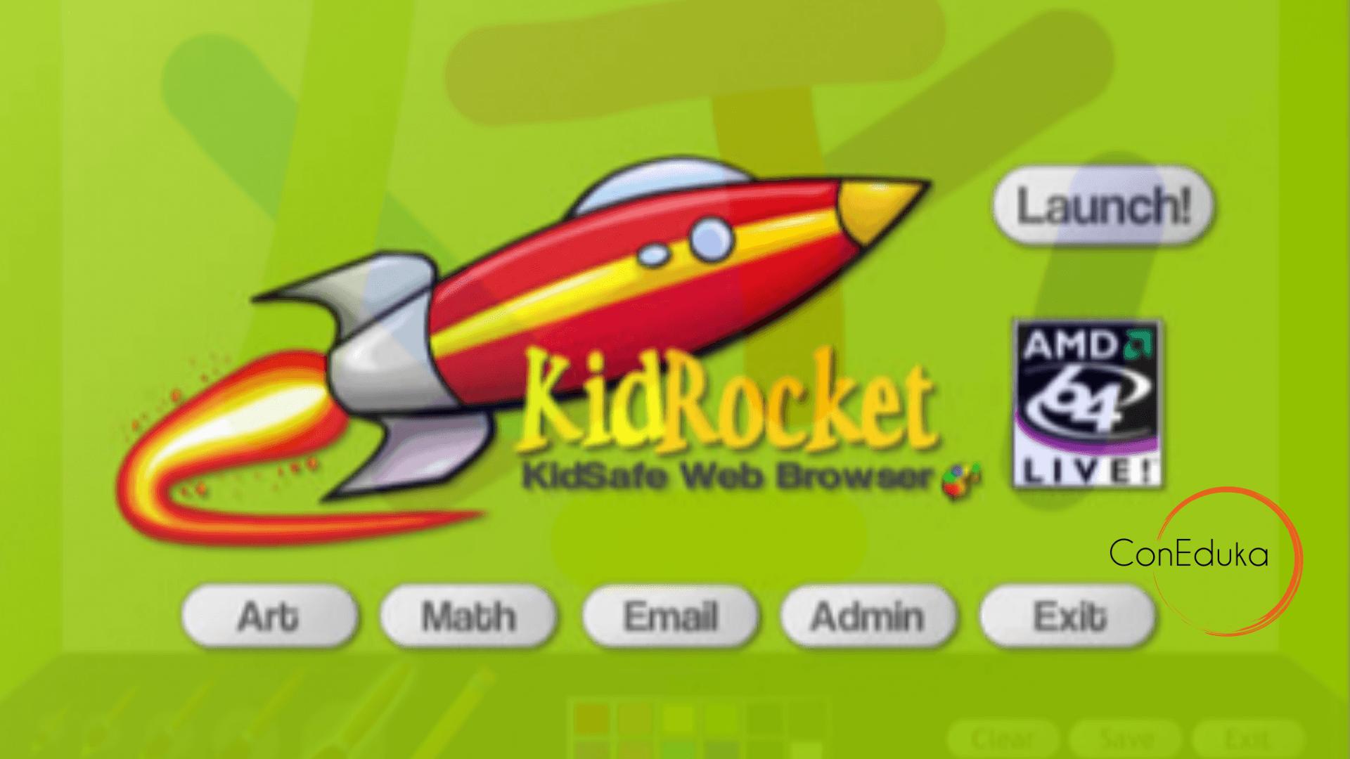 kidrocket para niños