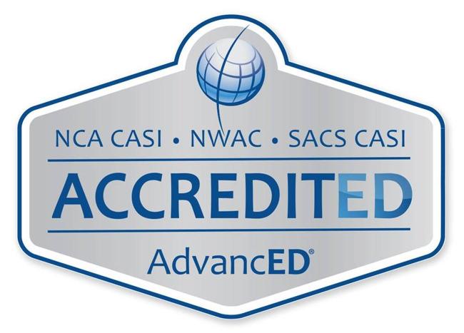 AdvancED's accreditation logo