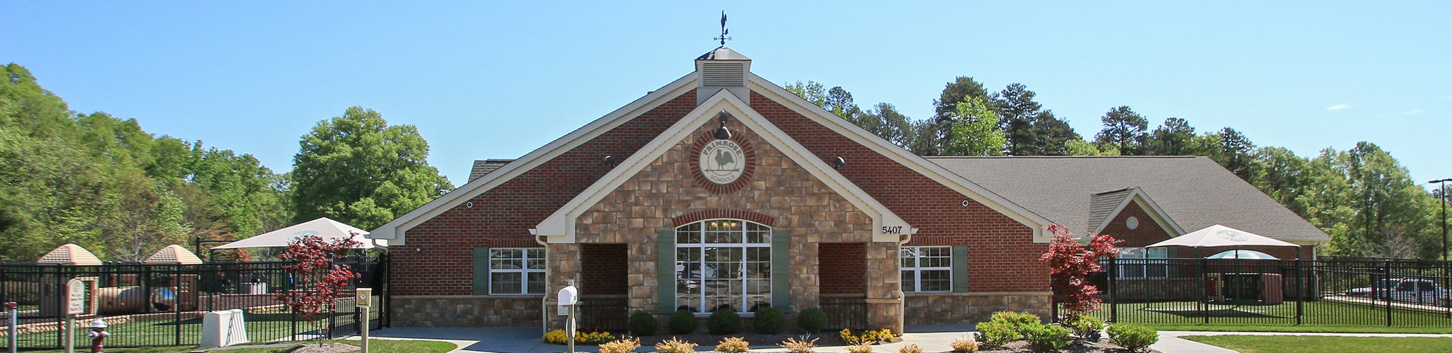 Exterior of a Primrose School at Austin Village