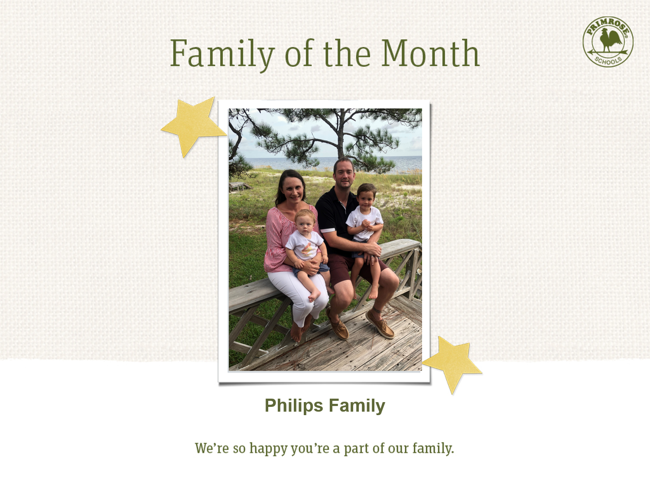 family of month - november