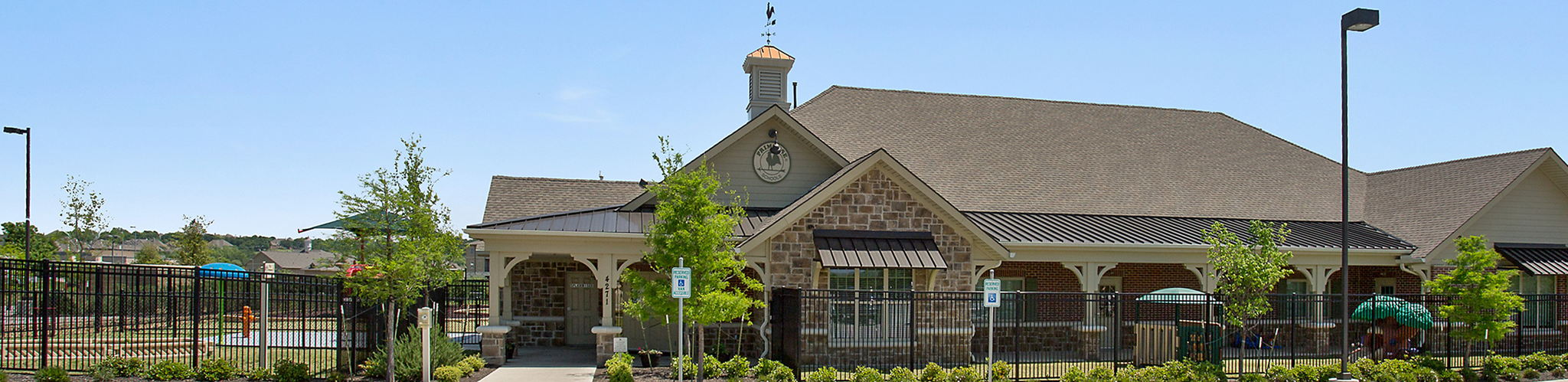 Exterior of a Primrose School of Round Rock North