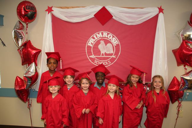Pre-kindergarten graduation ceremony at Primrose St Louis Park West  2018