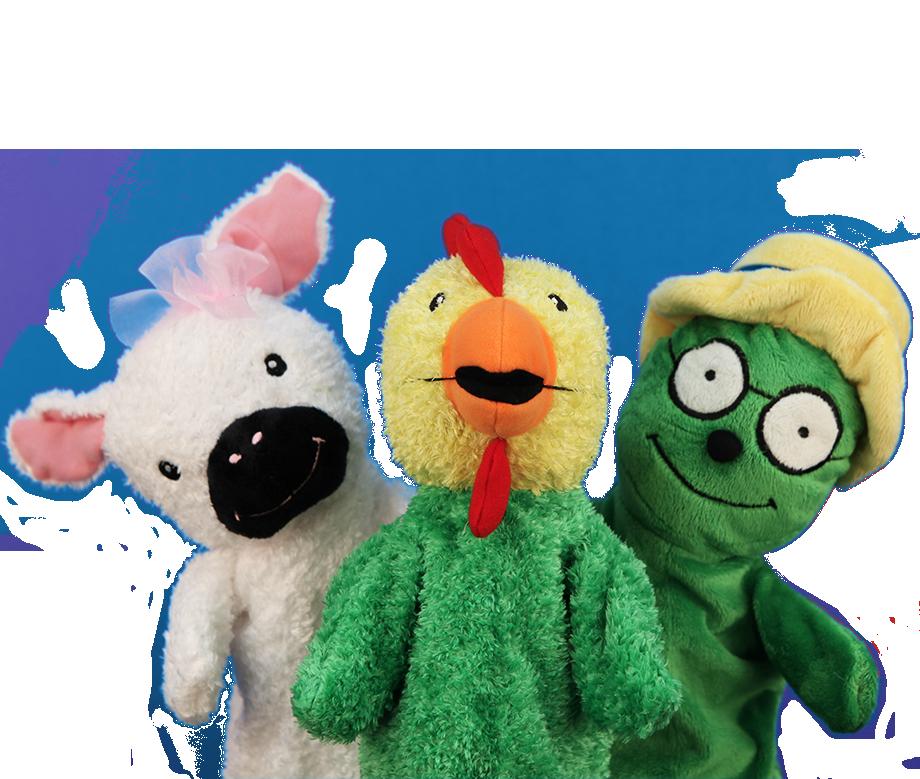 Primrose Kindergarten secondary puppet
