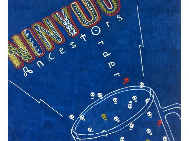 "NINYUO ""Ancestors Order""/個展【R'n'R(ロックのレコード)】作品"