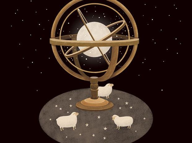 羊と天球儀